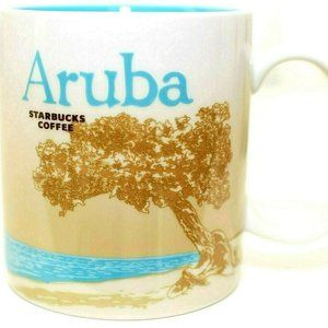 Starbucks Mug Aruba Global Icon City Series Coffee